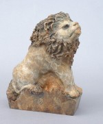 Literary Lion - Bronze
