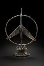 Peace Crane - Bronze