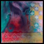 Harlequin's Night Sky Dream 36x36