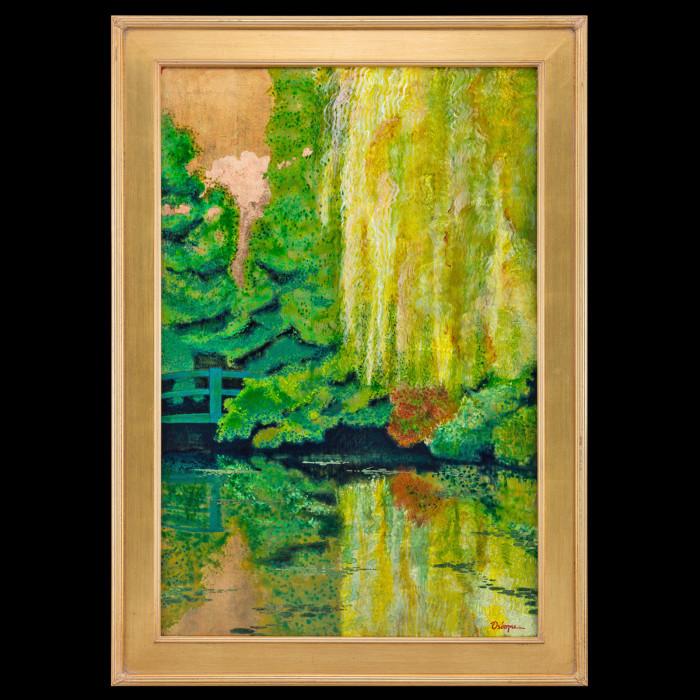 On The Lily Pond - Sur l'etana a Nenuphars