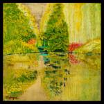 The Turquoise Bridge - Le Pont de Tourquise